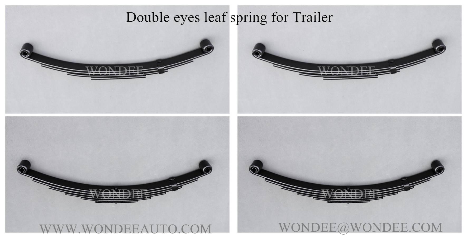 Leaf spring for trailer