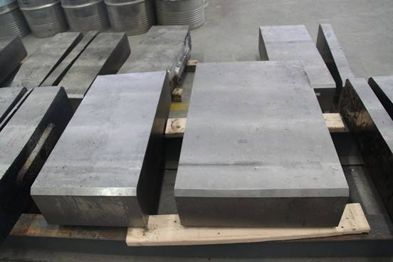 titanium wrought, block