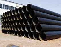ASTM A106 black steel seamless pipes china manufactures