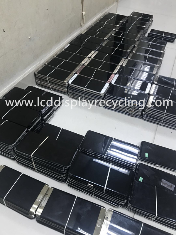 Recycle Used Mobile LCD Screen for Samsung Galaxy S7 Edge G935