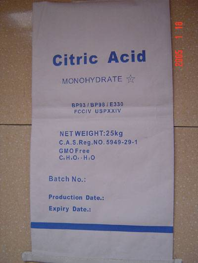 sell vitamin C,citric acid and etc.