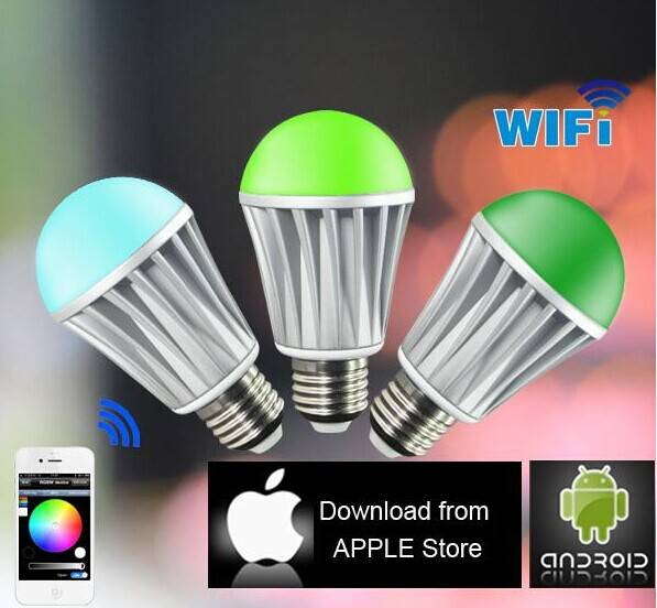 WiFi RGB LED Bulb Color Changing LED Lights home automation