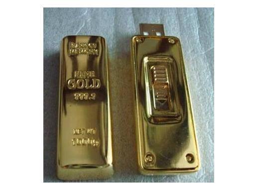 USB Flash drives--Golden-model