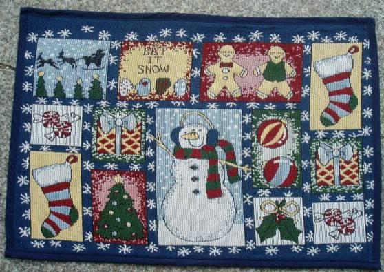 supply rugs, jacquard christmas rug, fabric door mat