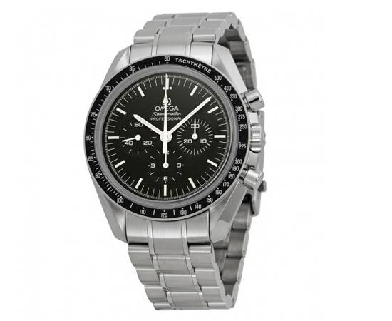 OMEGA Speedmaster Professional Moon Chronograph Black Dial Men's Watch