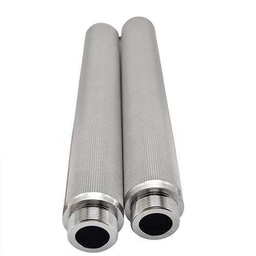 stainless steel titanium powder sintered filter tube filter