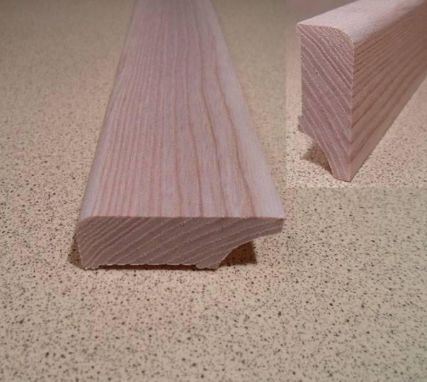Ash skirting board