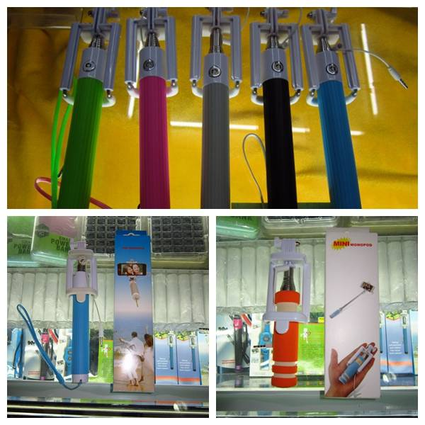 Mobile Phone Wired Selfie Stick for Htc,Lenovo, Asus, Coolpad, Micromax, Tecno, Infinix, ITEL