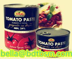 Sell OLD/STOCK canned tomato paste 70g-4500g,brix:28-30%