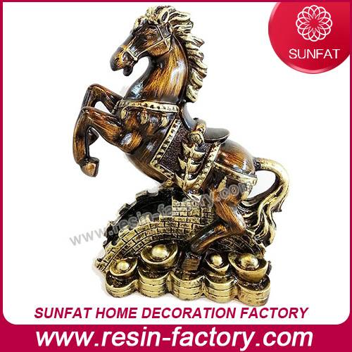 Customized Resin Horse for Table Decoration