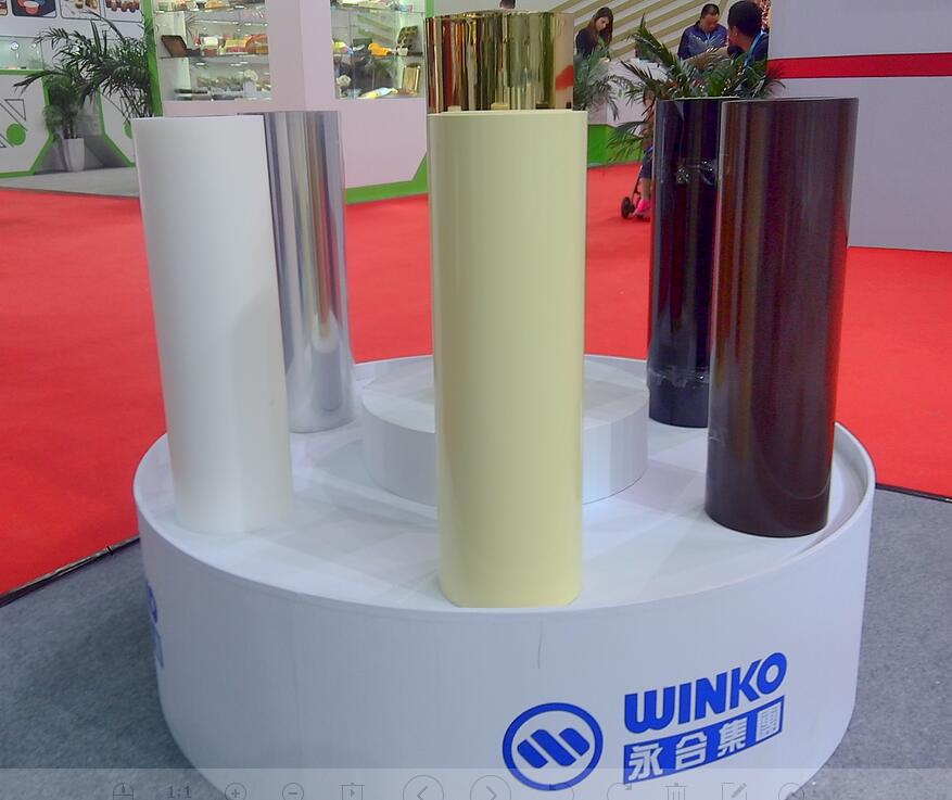Colored Biaxial Oriented Polystyrene Extrusion OPS Film for Thermoforming and Blister Packaging