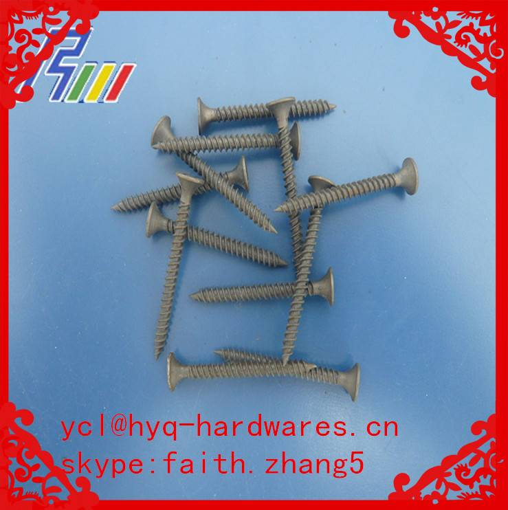 good price flat head drywall screw from factory