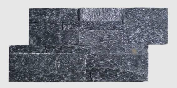 black quartz culture stone