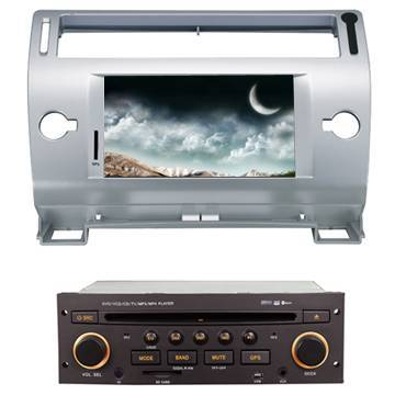 Android system car dvd player car RDS media player Citroen OLD C-Quatre