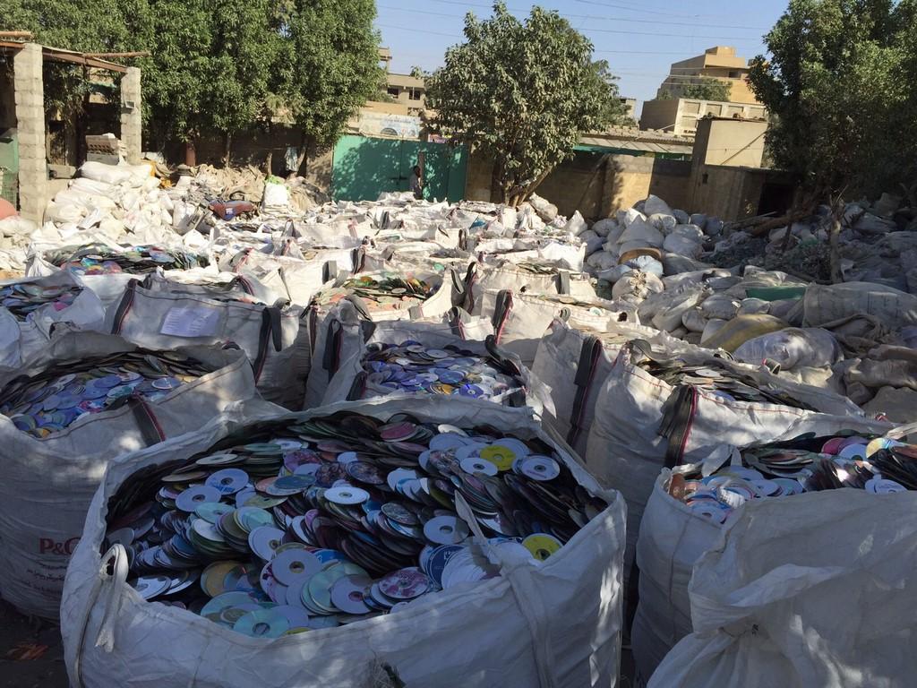 Plastic scrap sell offer