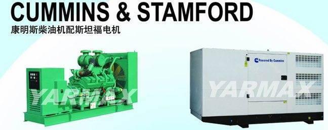 CUMMINS & STAMFORD Diesel Power Generation Unit