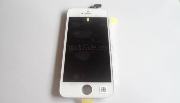 LCD Screen Display with Touch Screen Assembly Parts for iPhone 5 - White