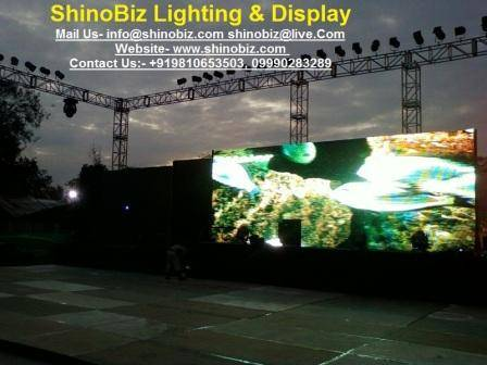 Biggest Indoor & outdoor Led Screen on rental & Hire in Goa, Chennai, Orissa, Kerala, Kolkata