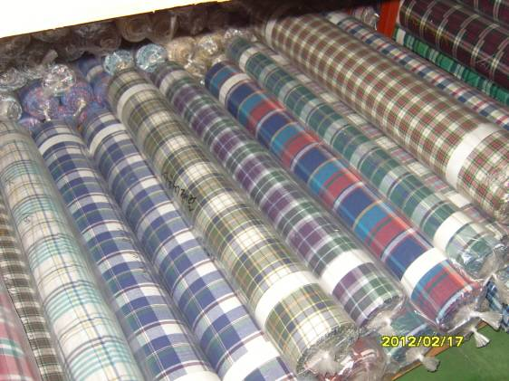 textile fabric stock waste remnant by yard n by kilo