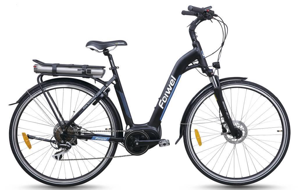 Mid-drive motor city electric bike (FR-TDB16Z)