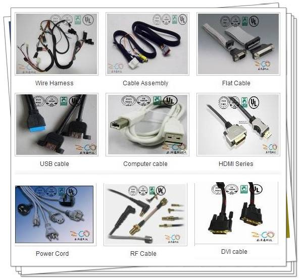 wire harness and cable assembly manufacturer with 15years experience: Z-Co technology