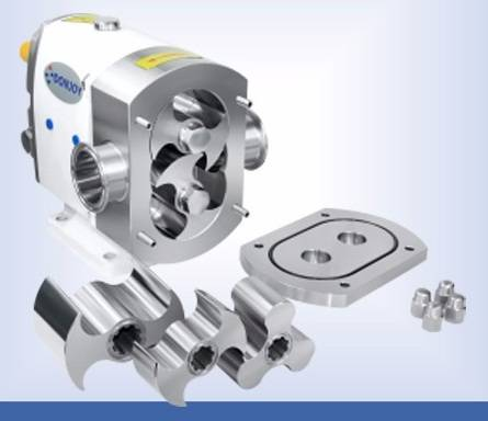 3A sanitary electric gear pumps for ice cream candy honey milk