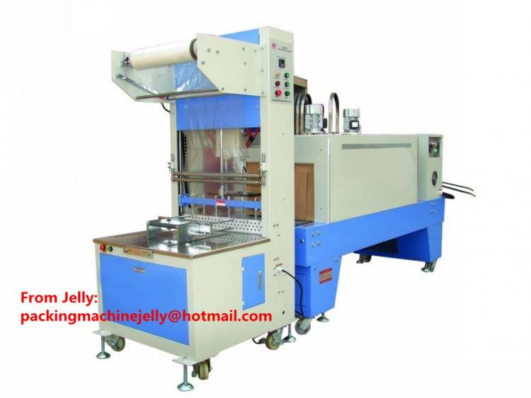 ST6030 Semi-auto wrapping and shrinking packing machine