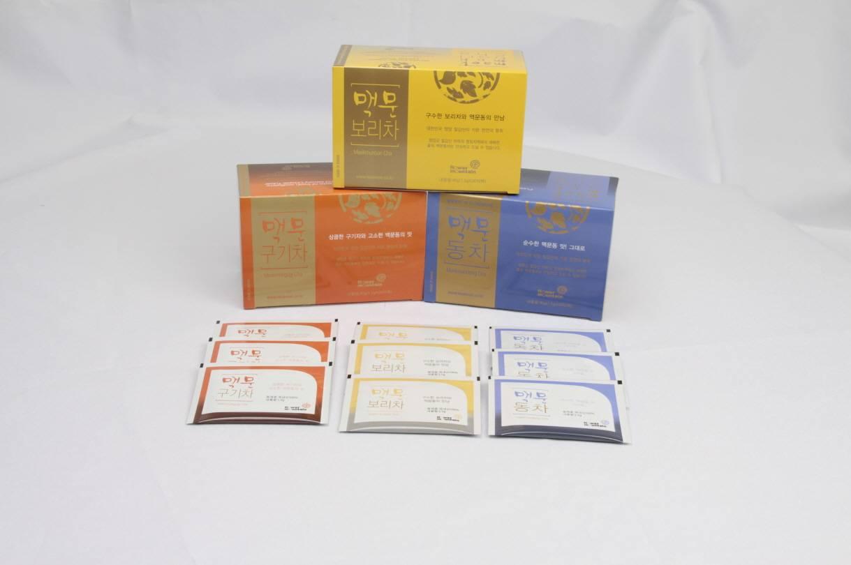 Liriope rhizome tea gift set