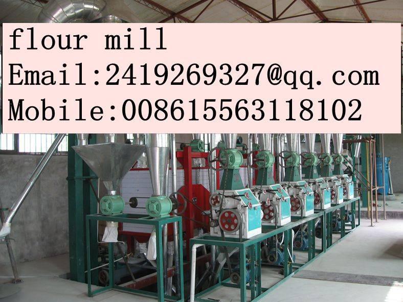 corn flour equipment
