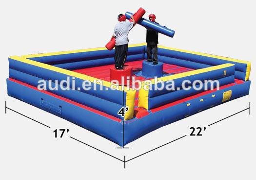 American inflatable Gladiator jousting game