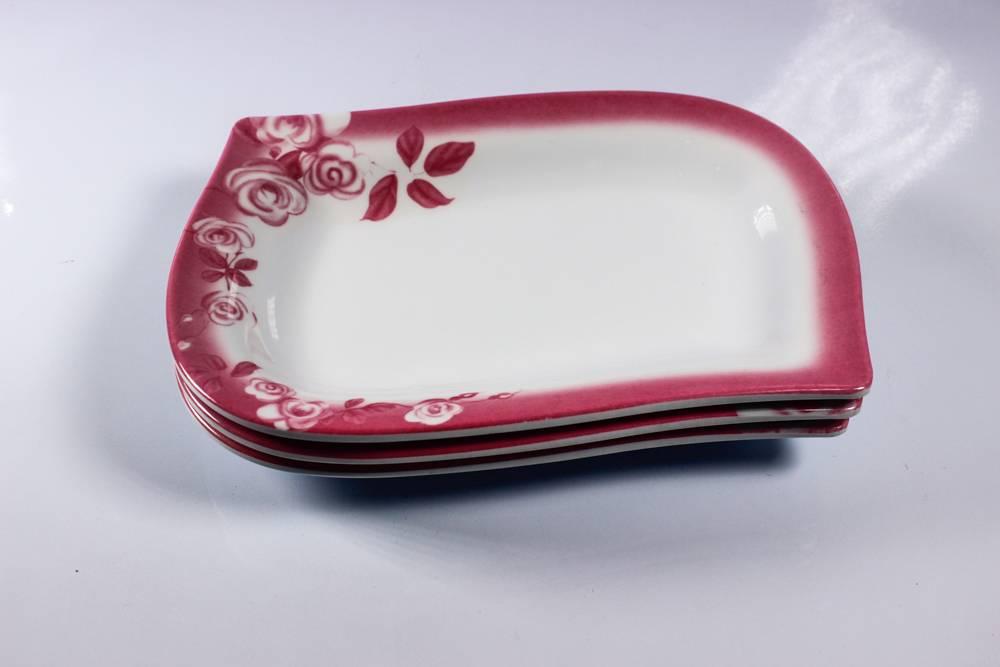 9.5'' irregular deep melamine plate