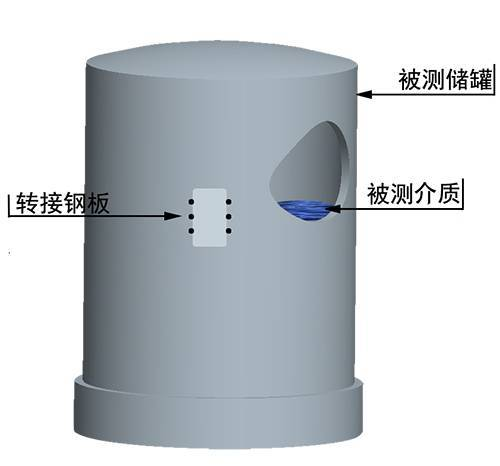 External Sonar Liquid Level Meter