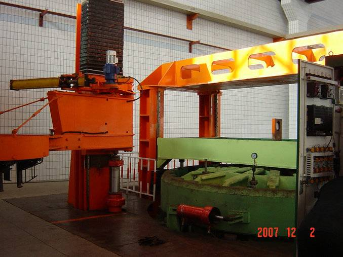 All Steel Giant Hydraulic Tire Curing Press