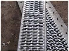 Antiskid perforated plate