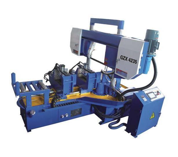 CNC Full Automatic Rotation Angle Band Saw Machine GZX4235