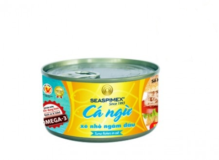 Canned Tuna flakes in Oil