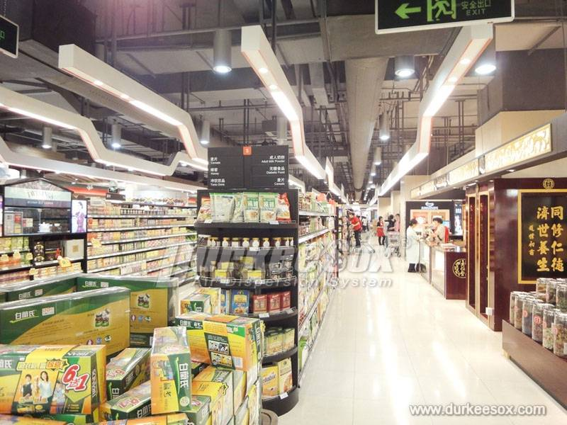 Fabric Ducting for Supermarket Application