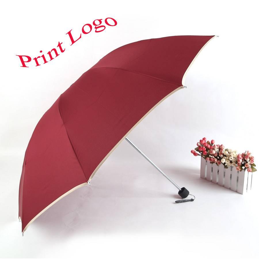 Advertising Umbrella logo printing good quality