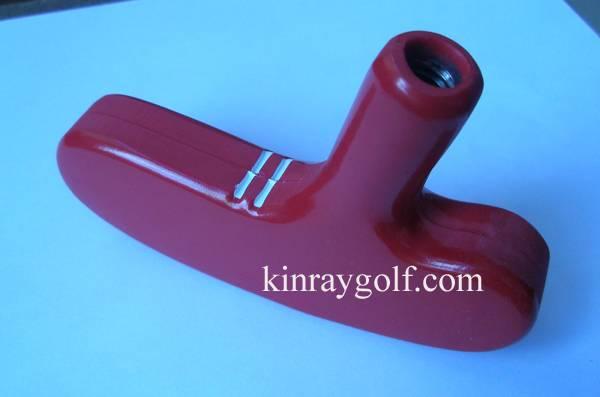 Miniature golf rubber heads
