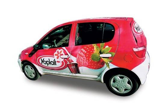 Self Adhesive Vinyl (Vehicle graphics&Car wrapping)