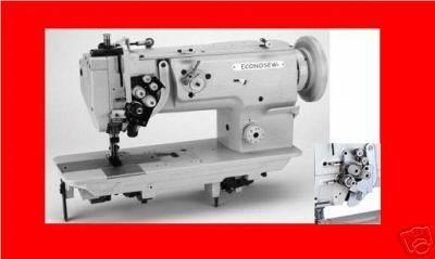 ECONOSEW LU-1565N 2 Needle Walking Foot SewingMachine