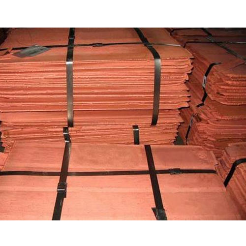 We supply quality copper Cathodes