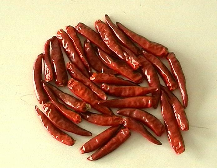 Henan small dried chillies