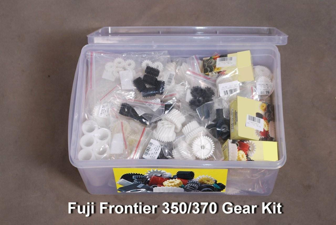 Gears kit in the box for fuji frontier 370