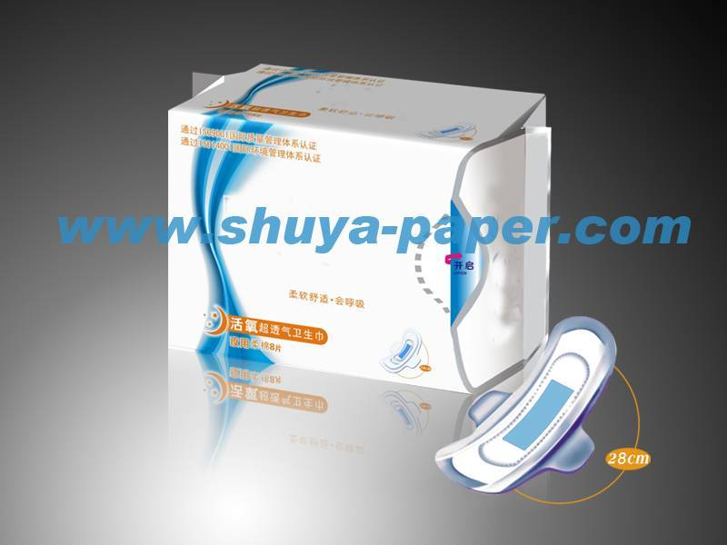 Personal care products sanitary napkin