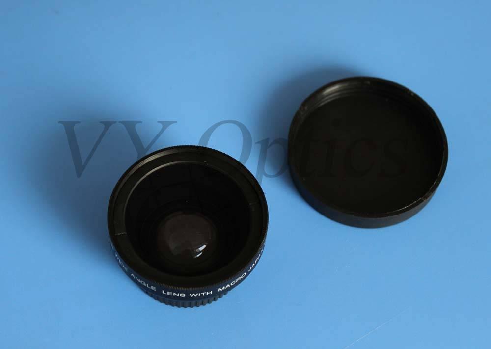 optical 0.65x wide angle converter lens