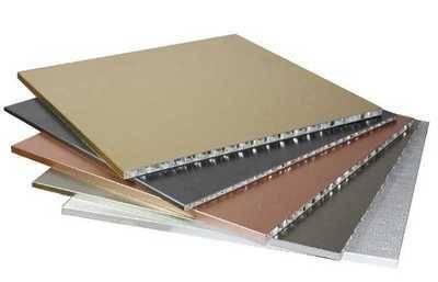 Aluminum honeycomb plate