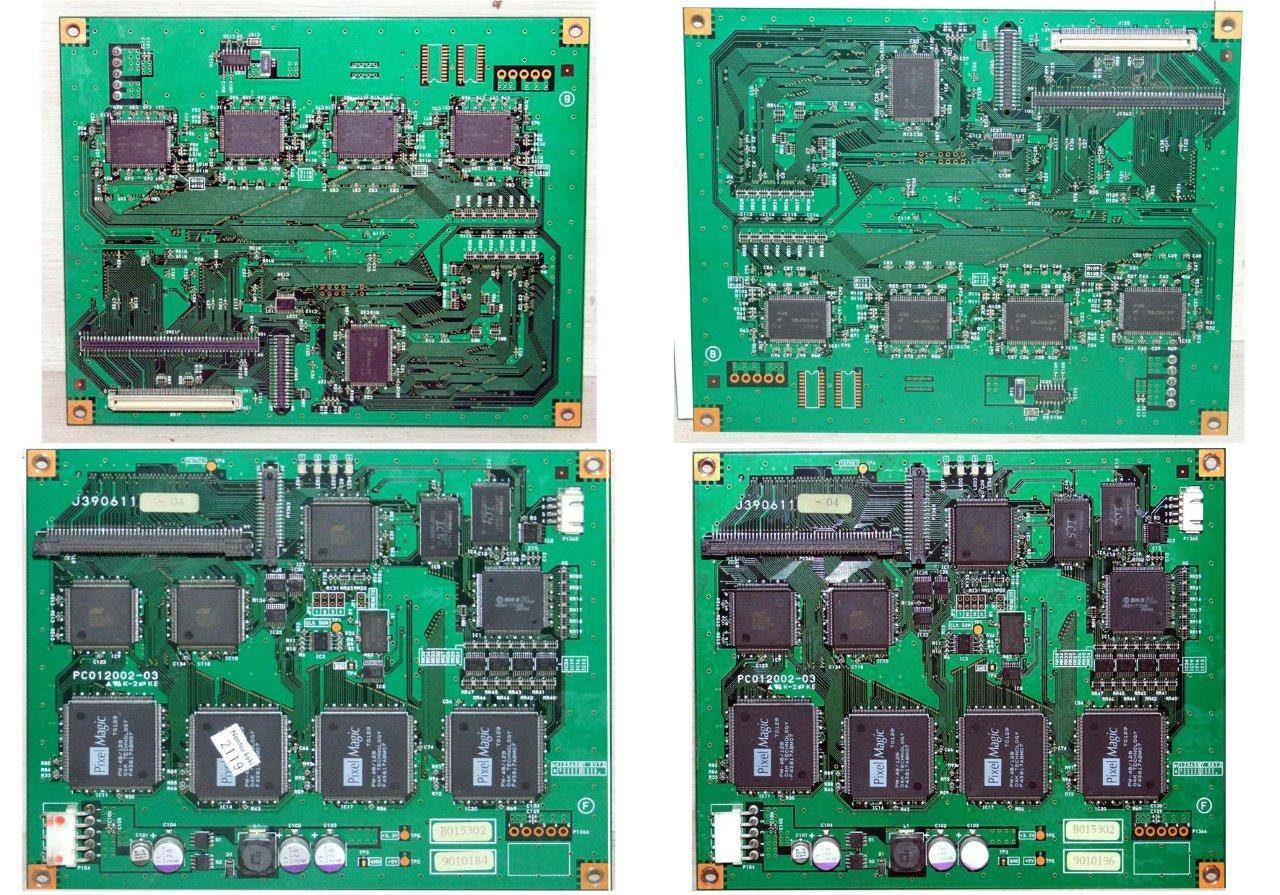 image correction pcb for qss 2901