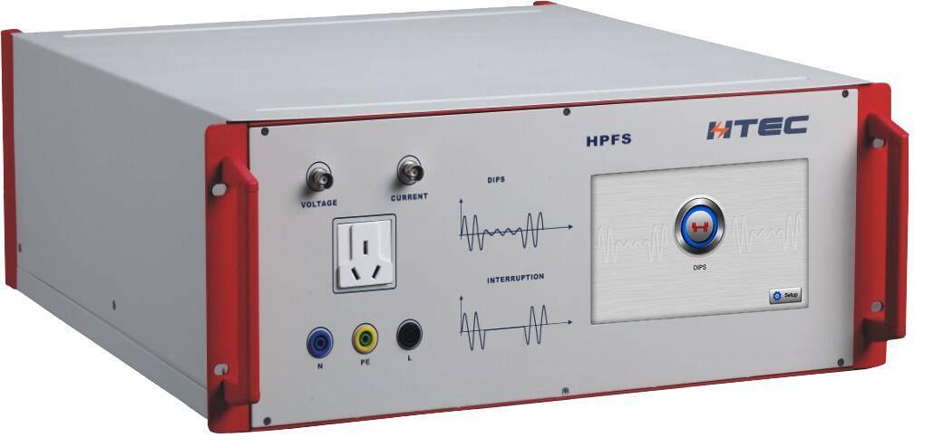 Voltage Dips & Interrupts Generator