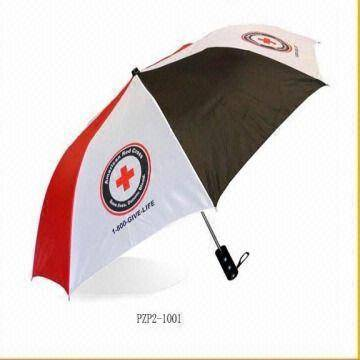 offer 2 section small umbrella for promotion